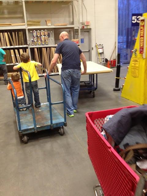 shopping for barn door wall treatment supplies