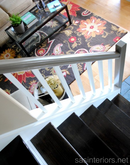 stair remodel, SAS Interiors on Remodelaholic