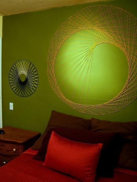 string wall art, NineRed