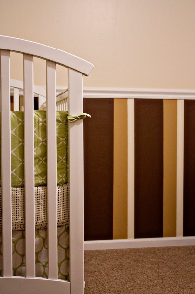 striped painted wainscoting, Erin D Photography on Remodelaholic
