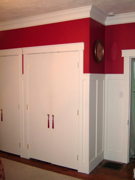 tall board and batten wainscoting, Remodelaholic