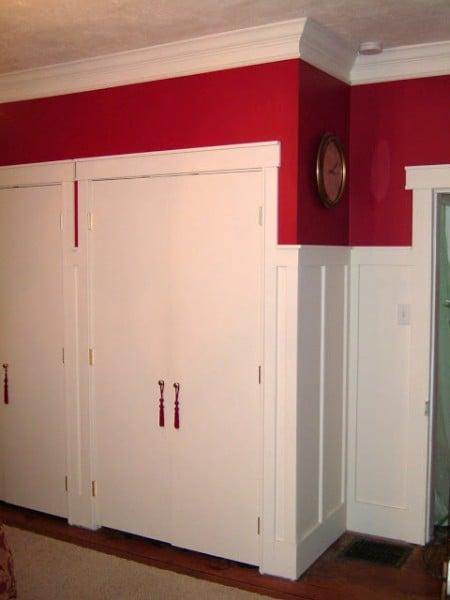 Wainscoting Make A Room Taller