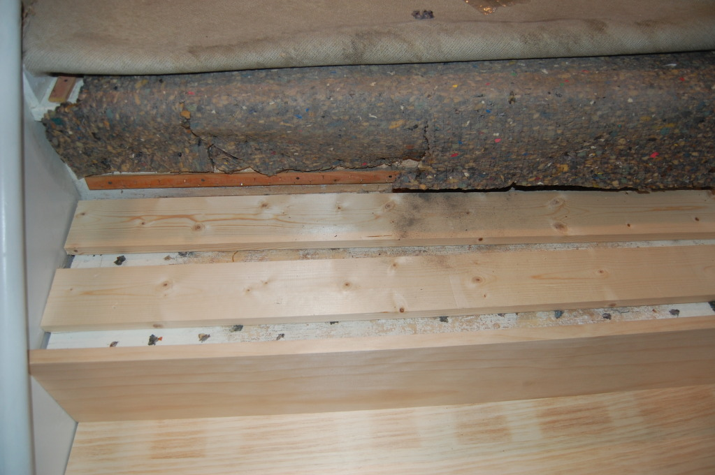 Use Wood Shims For Stair Remodel