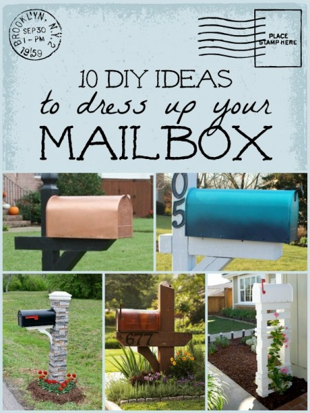 10 diy mailbox ideas