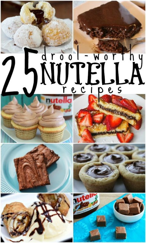 25 Nutella Recipes Remodelaholic