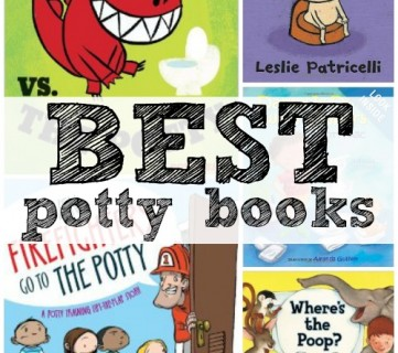 5 Great Potty Training Books via Tipsaholic.com