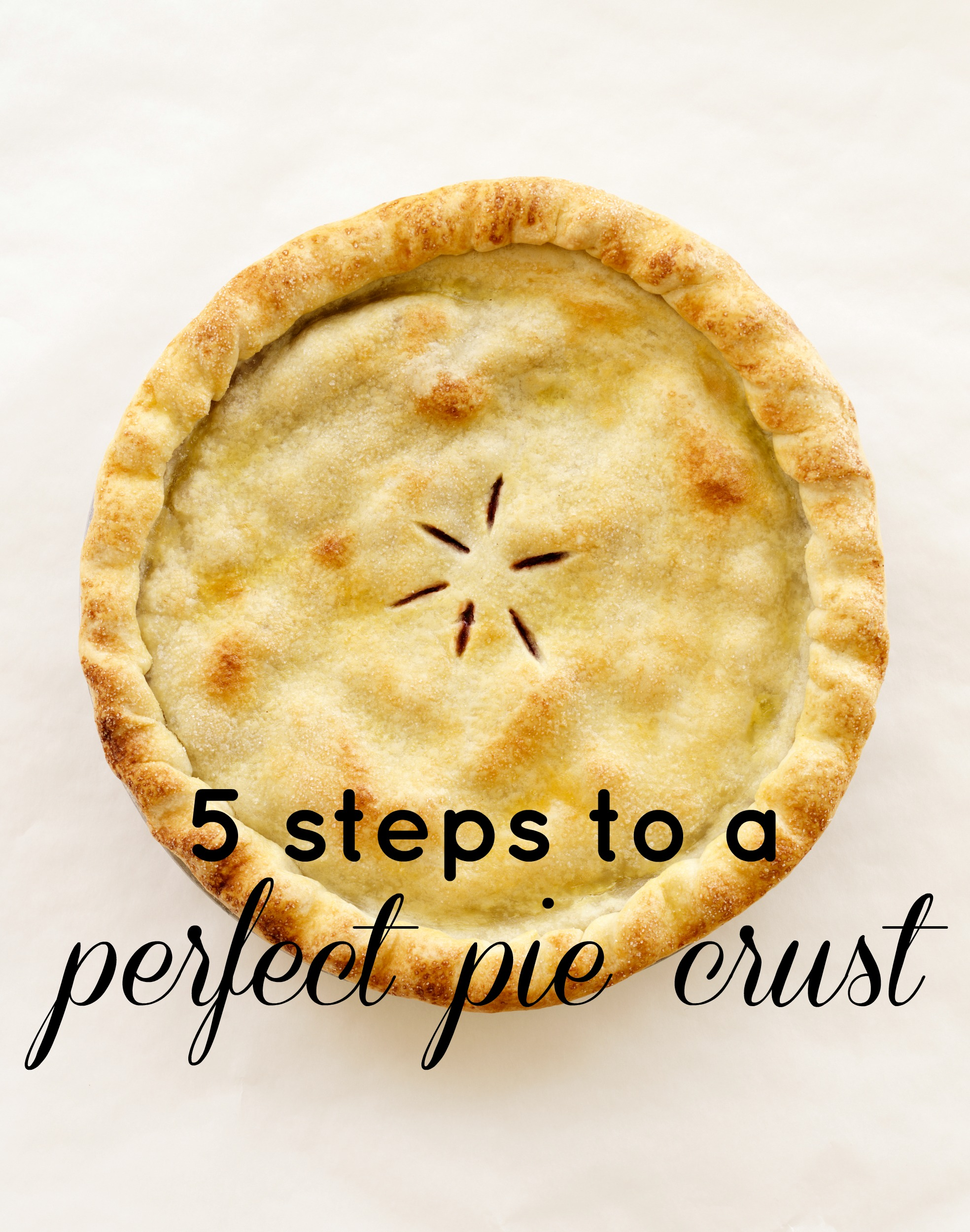 5 Steps to Perfect Pie Crust