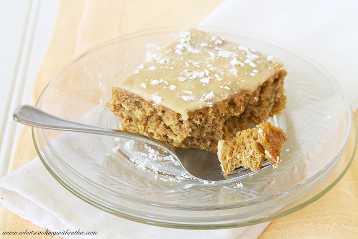 Banana Oatmeal Cake Recipe