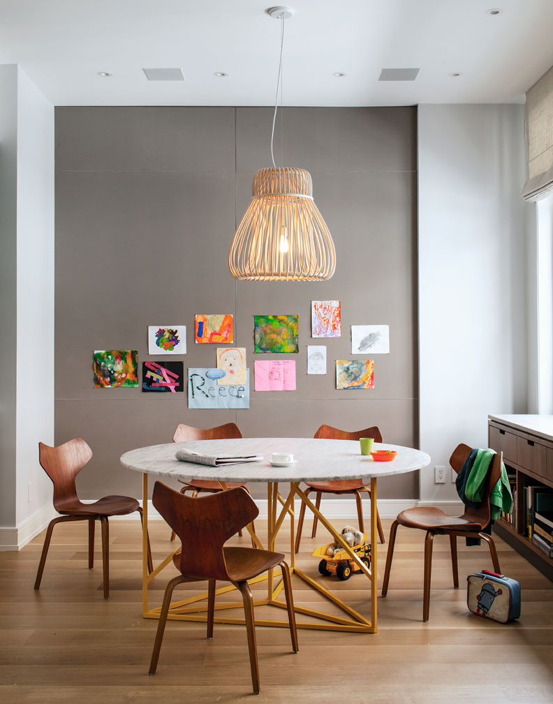 Tips for designing kids spaces remodelaholic for Pictures for dining area