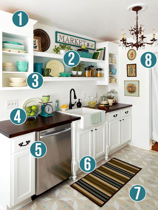 Get This Look Luxury And Style In A Small Kitchen Remodelaholic