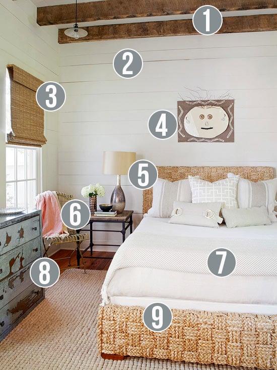 Get This Look Neutral Rustic Bedroom 9 Tips From Remodelaholic Getthislook