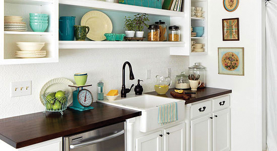 Get This Look - Tips for Luxury and Style in a Small Kitchen
