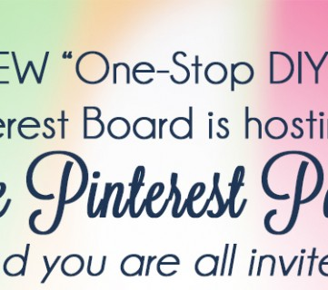 Pinterest Party Tonight!