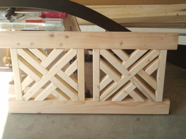 Red Hen Home build a  bench back 4