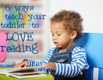 Teach Your Toddler To Love Reading via Tipsaholic.com