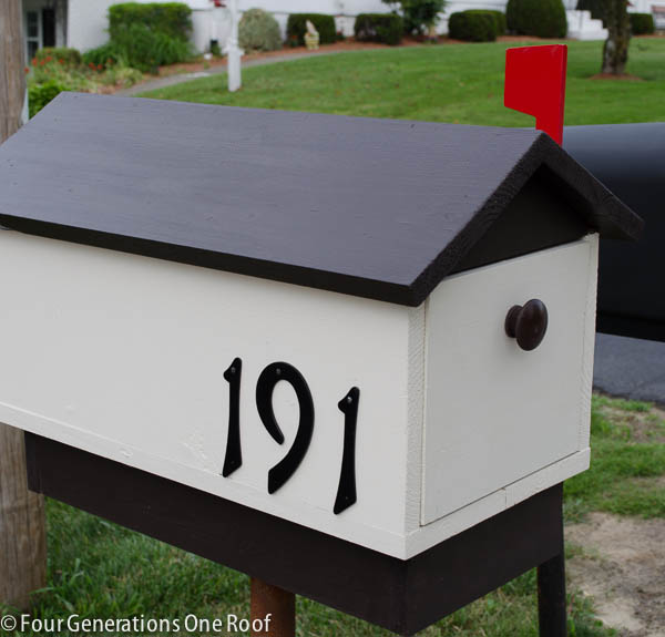 Build a DIY Mailbox | Four Generations, One Room