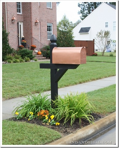 Diy Copper Mailbox Sand And Sisal