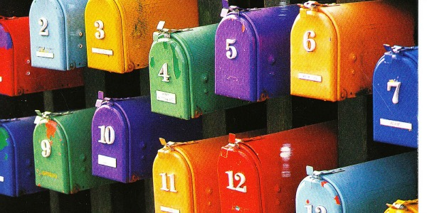 diy mailbox feature colorful mailboxes