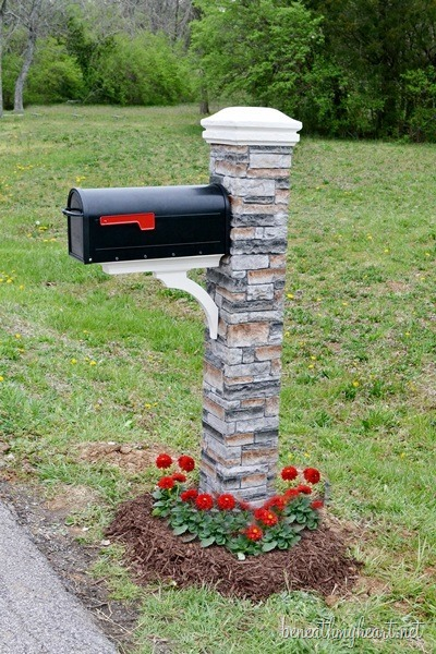 In Addition DIY Pallet Wall Decorating Ideas On Mailbox Design Ideas