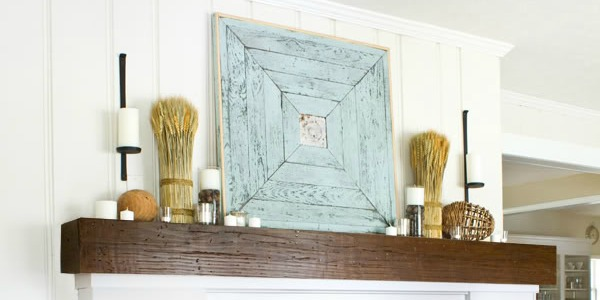 Top Ten Beautiful Fall Mantels and Link Party