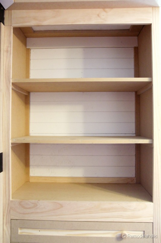 how to build a built-in closet, built-ins from existing furniture ...