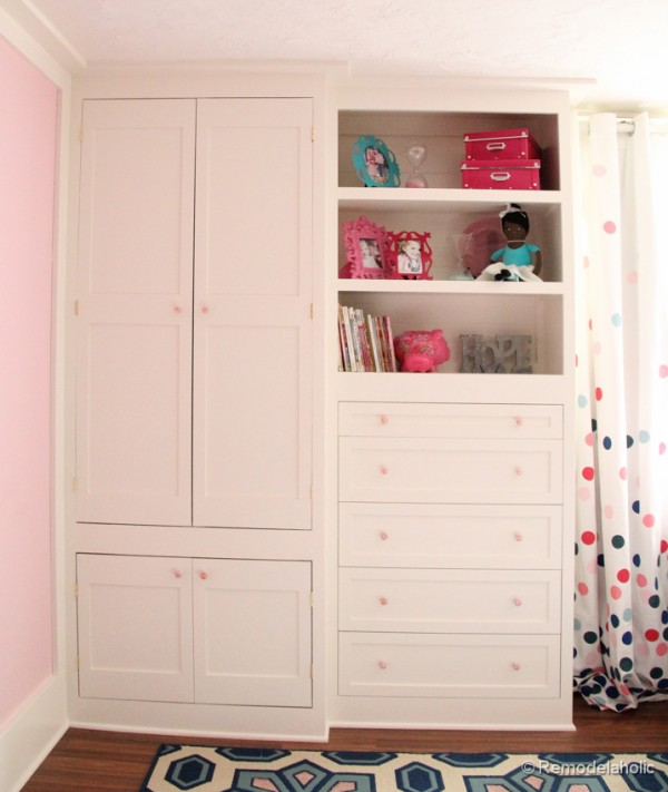 Good ... How To Build A Built In Closet, Built Ins From Existing Furniture  Upcycle