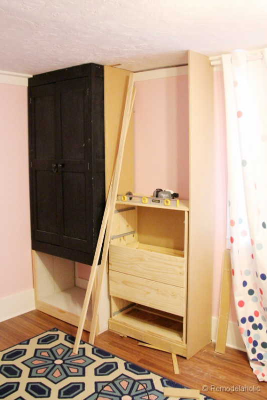 How To Build A Built In Closet Built  ...