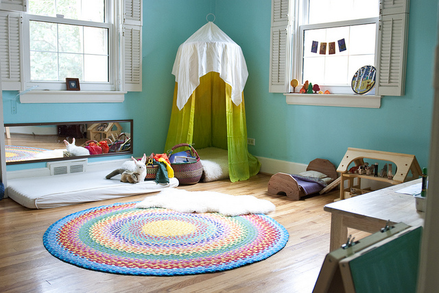 Remodelaholic 4 steps to a great kids 39 reading nook for Coin arredamento
