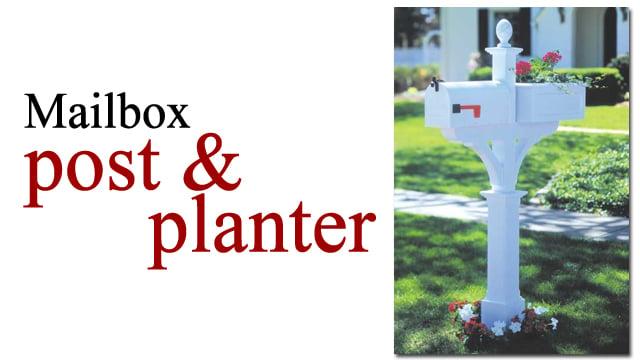 Diy mailbox ideas remodelaholic mailbox post and planter solutioingenieria Gallery