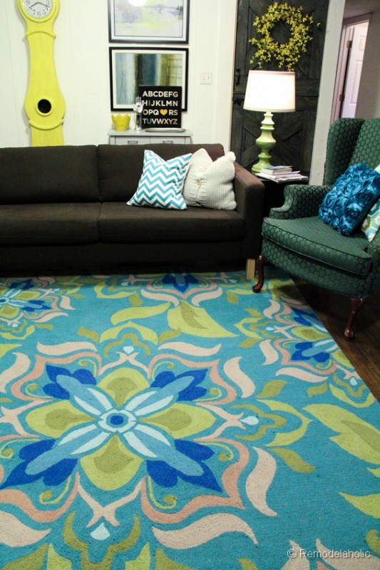 green living room rug. new living room rug 2 A New Living Room Rug