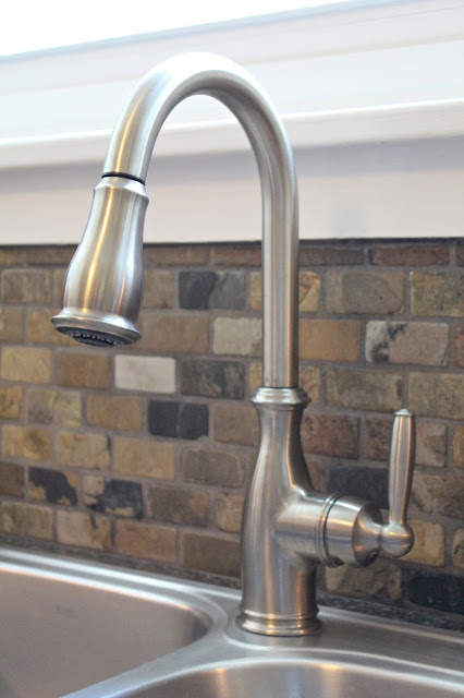 Small Kitchen Remodel Faucet Small Kitchen Remodel, Featuring Slate Tile  Backsplash | Detroit