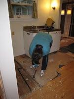 small kitchen remodel, in progress 8