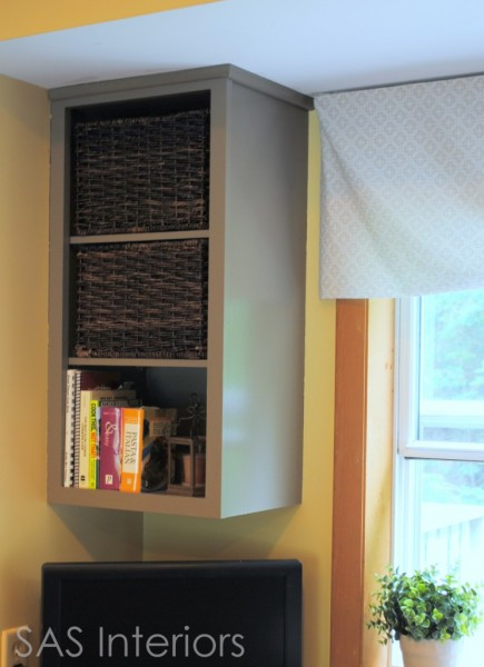 upgrade cabinets by making open cabinet, SAS Interiors