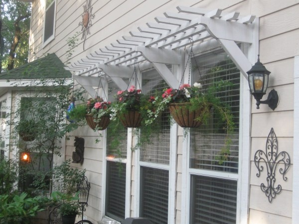 Window Awning How To Build And Install Wooden Pergola Awnings Twelve Oaks Manor
