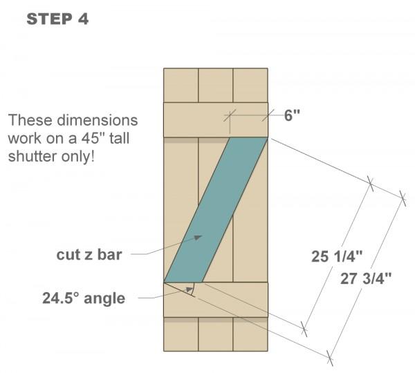 houten sluiter tutorial stap vier