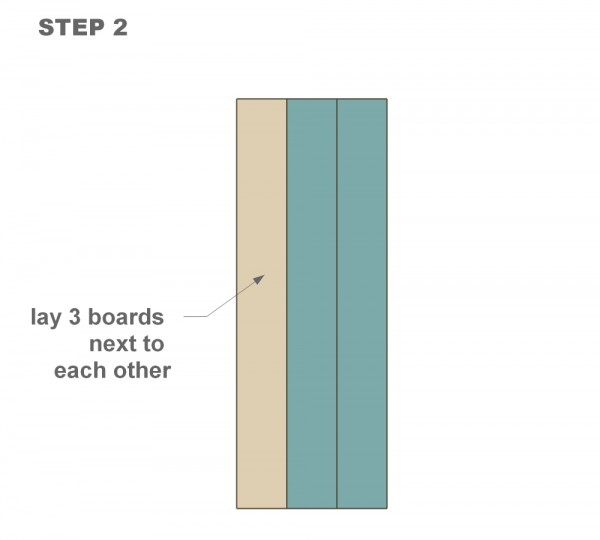 wood DIY shutter tutorial step two
