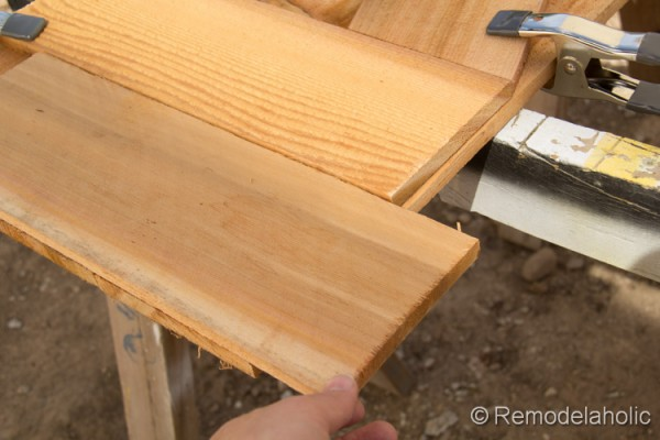 wood DIY shutters instructions