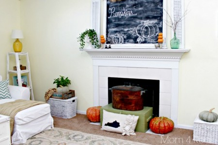 10-4 fall home tour, Mom4Real