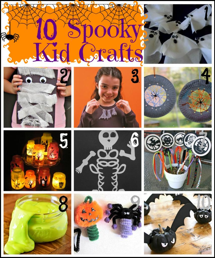 remodelaholic 10 spooky kid crafts for halloween
