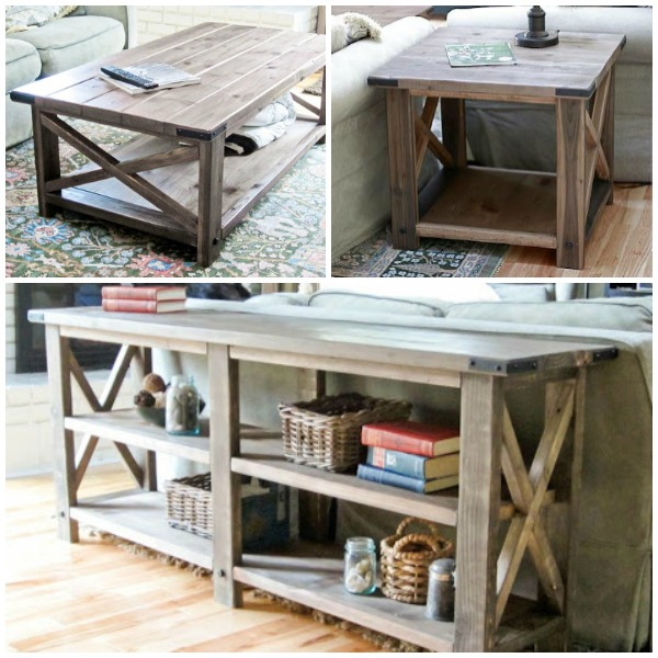 Rustic Furniture Diy remodelaholic | stylish and simple diy sofa table