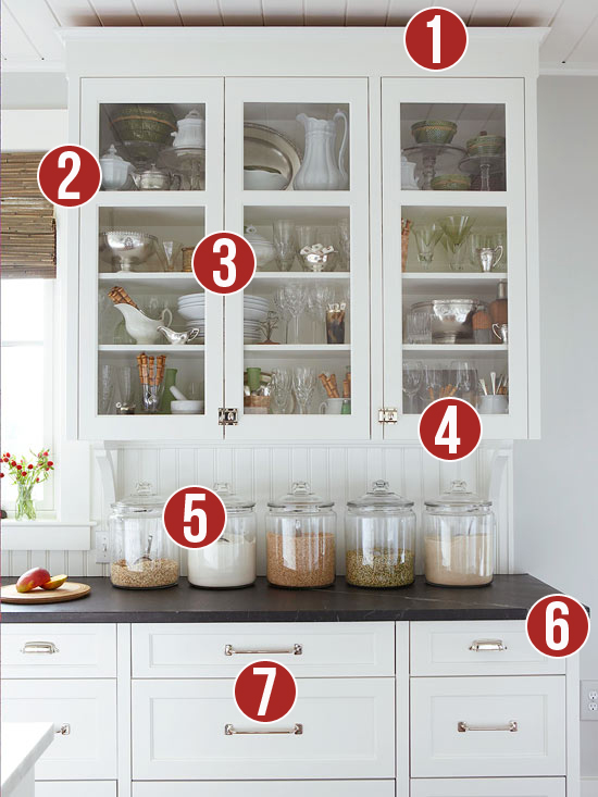 Get This Look - Classic Kitchen Curio - 7 Tips from Remodelaholic.com