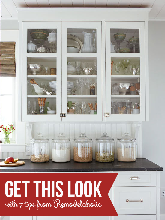 remodelaholic get this look classic kitchen curio