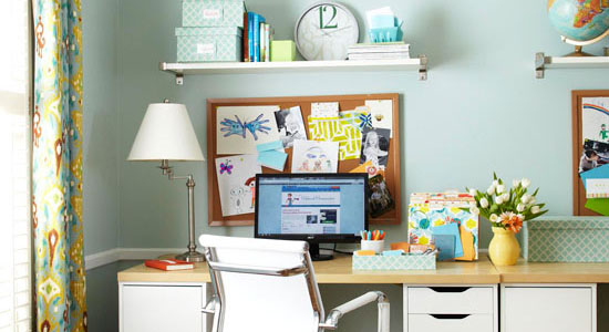 Get This Look - Easy Home Office Organization