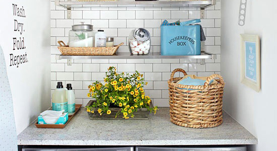 Get This Look: Fresh Laundry Nook Ideas For Small Laundry Rooms