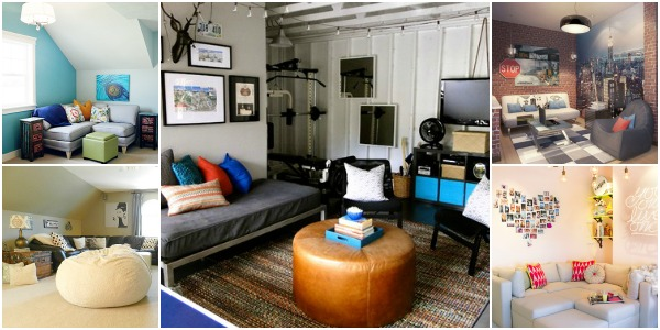 Top Ten Teen Hangout Spaces via Remodelaholic