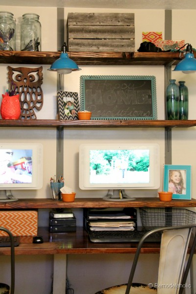 Easy Rustic wall shelves Tutorial