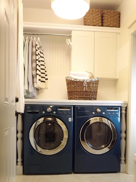 Remodelaholic Get This Look Fresh Laundry Nook Ideas