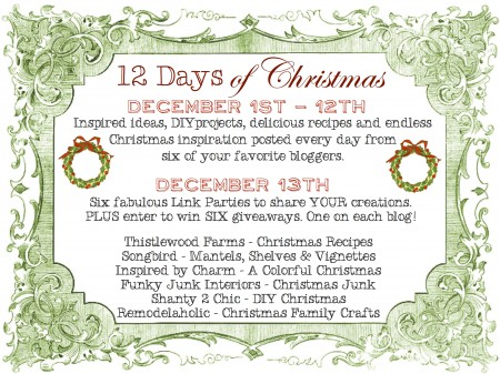 12 Days of Christmas #12days72ideas