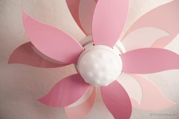 Merveilleux Craftmade Girls Room Ceiling Fan Flower Ceiling Fan  ...