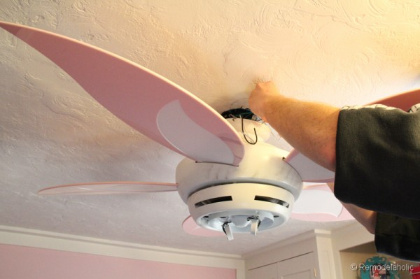 New flower ceiling fan craftmade girls room ceiling fan flower ceiling fan mozeypictures Choice Image